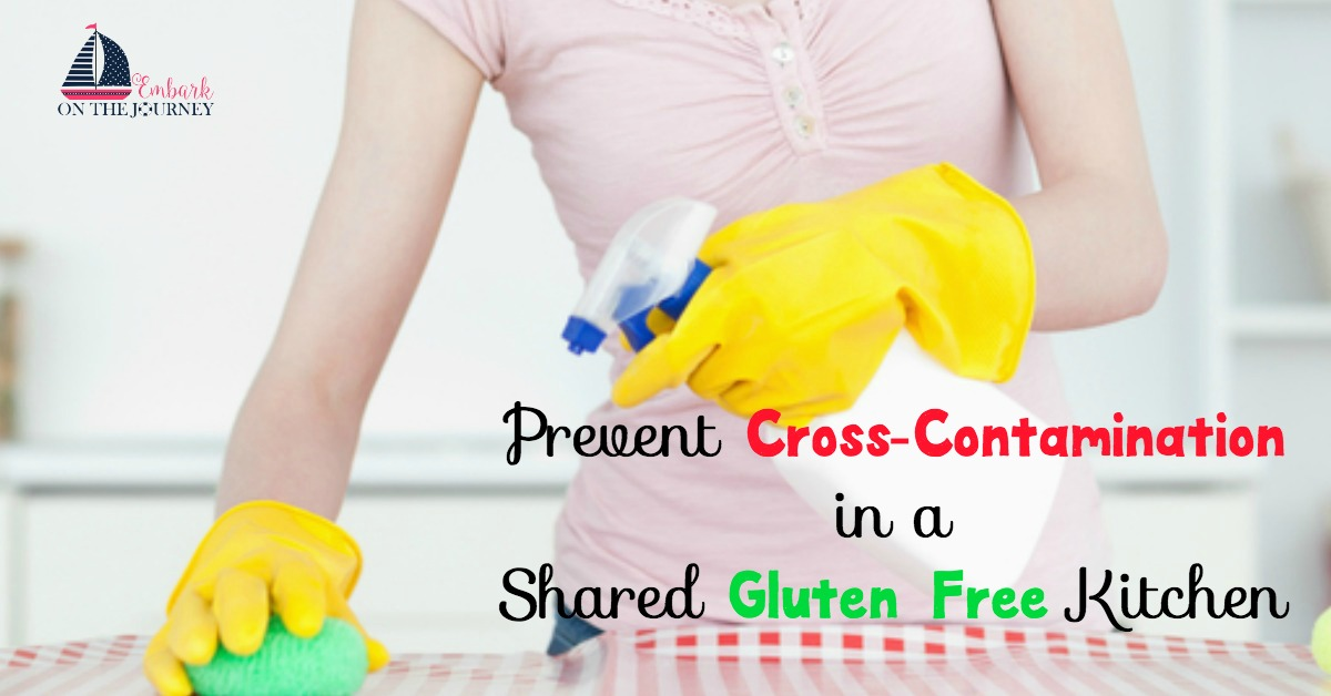 10 Ways to Prevent Cross-Contamination in a Shared Gluten Free Kitchen