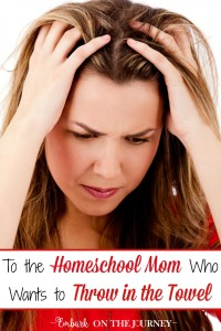 Homeschooling is such a blessing! But, homeschooling isn't always easy. Don't give up! Sit back, and take a break if necessary. Reassess your goals. Remember why you chose this journey. Here are three tips to help you keep going when the going gets tough.