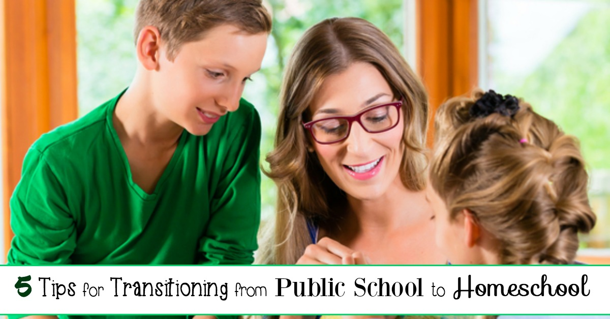 How to Make the Transition from Public School to Homeschool