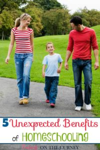 When I started this homeschool journey fifteen years ago, I thought I knew the benefits. However, we have discovered many unexpected benefits of homeschooling. Come see if you have discovered any of these yourself.   embarkonthejourney.com