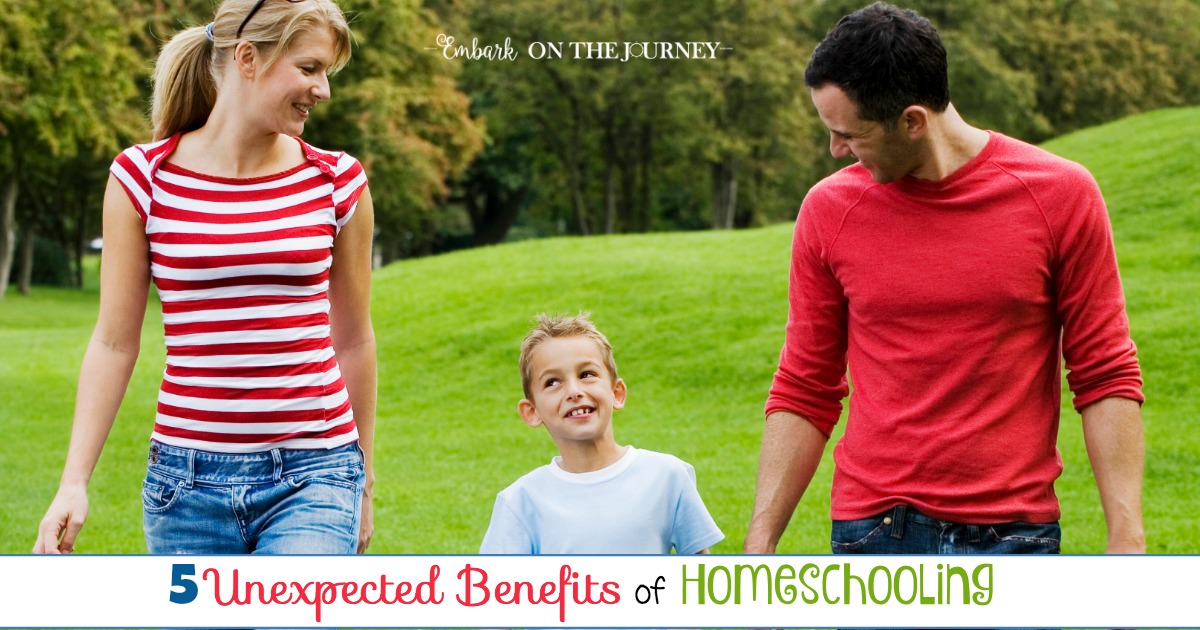 5 Unexpected Benefits of Homeschooling