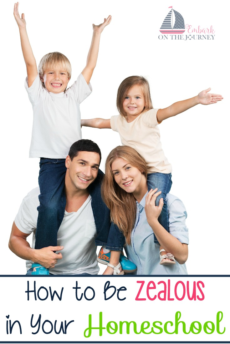 When you're facing burnout, how can you stay zealous in your homeschool? I have three tips to share with you.   embarkonthejourney.com