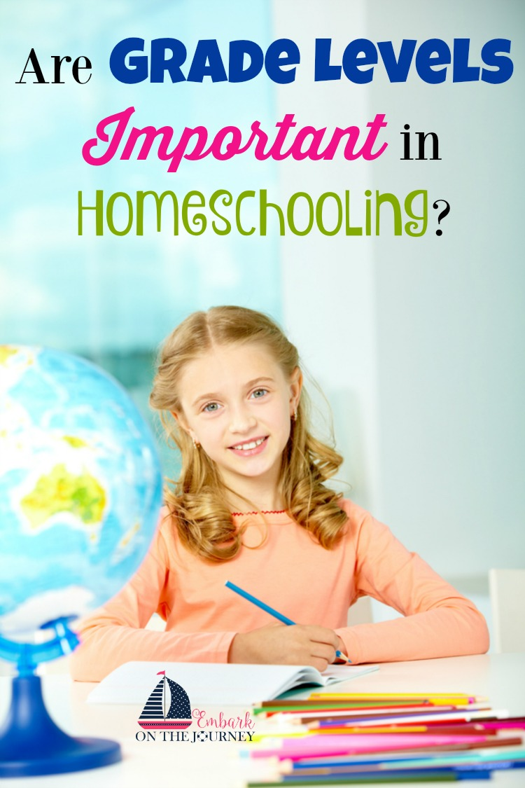 Are grade levels important in homeschooling? Does it matter what grade the kids are in? One veteran mom weighs in on when