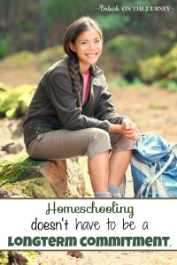 Some parents consider homeschooling, but they're intimidated by the thought of being committed for the long haul. However, it is perfectly okay to choose to homeschool 'for a season' if that is what is best for your family. One veteran mom shares her thoughts and experiences on homeschooling for a season. | embarkonthejourney.com