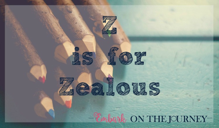 Z is for Zealous: When you're facing burnout, how can you stay zealous in your homeschool? I have three tips to share with you. | embarkonthejourney.com