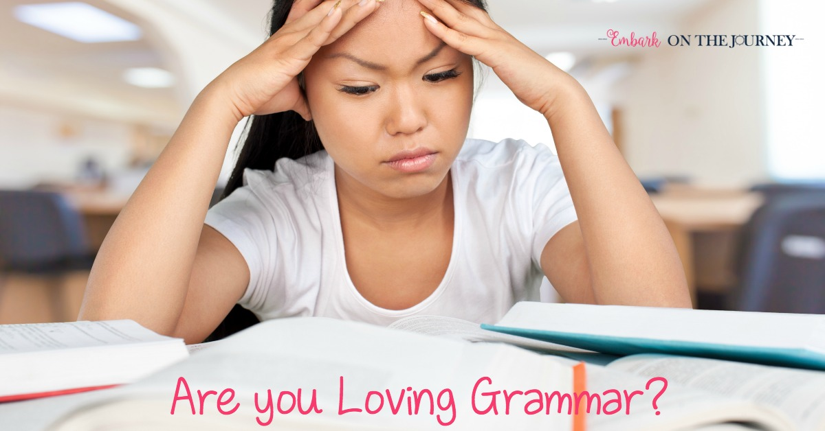 Are You Loving Grammar in Your Homeschool?