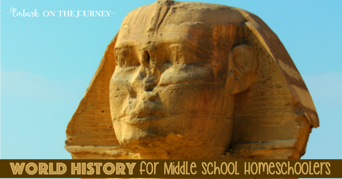 Engaging Middle School World History for Homeschoolers
