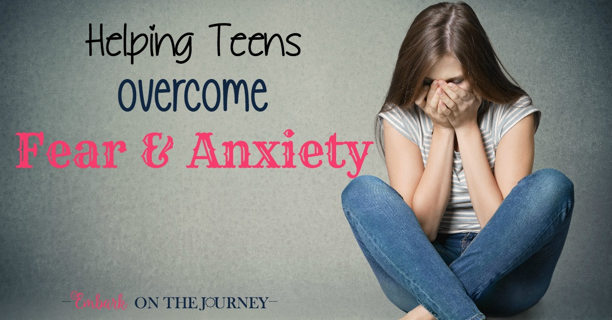 Fear and anxiety can steal the joy out of every day life. Don't let this happen to your teens. Use the tips to help your teens overcome their fears and anxiety.   embarkonthejourney.com