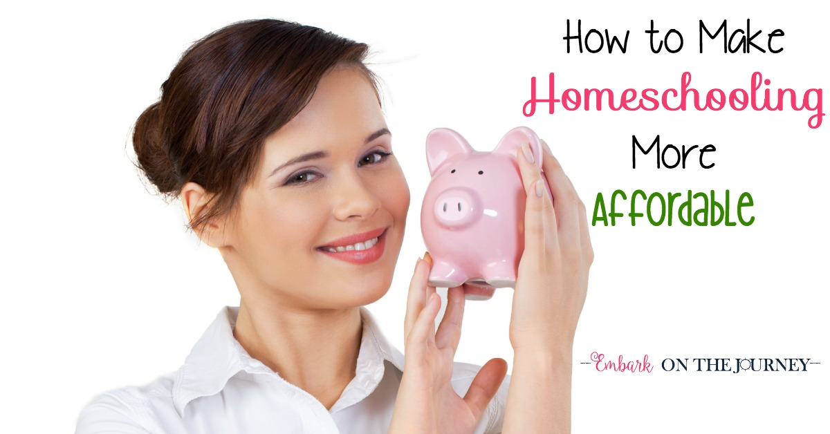 How To Make Homeschooling More Affordable