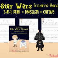 Star Wars Handwriting Bundle
