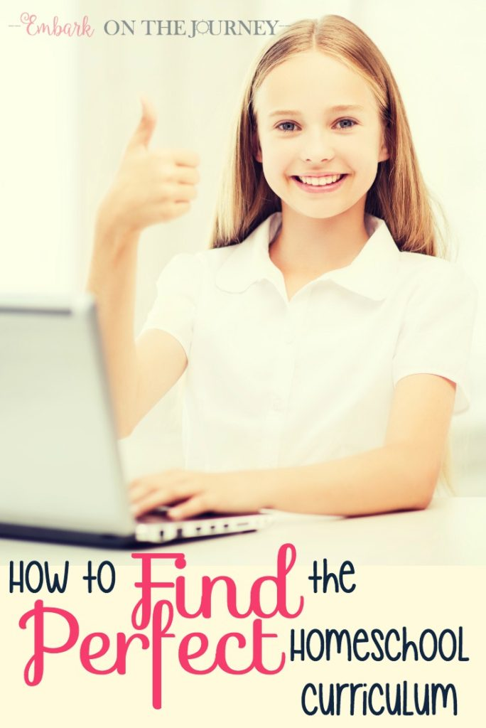 After fifteen years of homeschooling, I have finally discovered the secret to finding the perfect homeschool curriculum. You won't believe it!   embarkonthejourney.com
