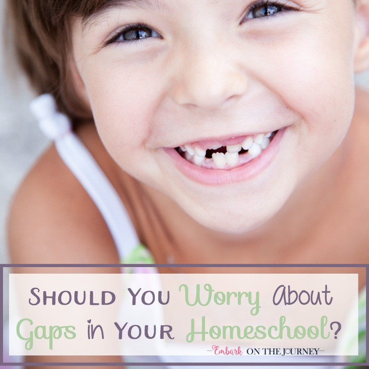 Should You Worry About Gaps in Your Homeschool?