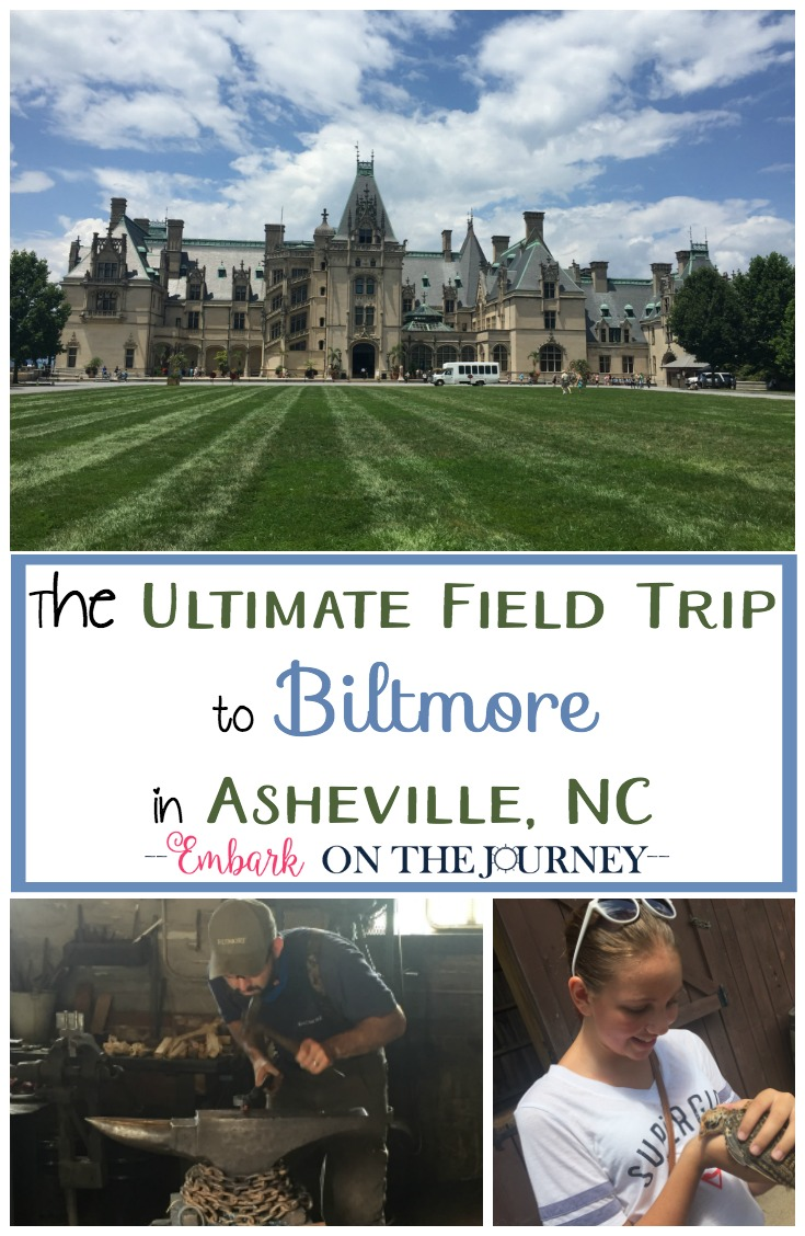 What's better than a homeschool field trip? A homeschool field trip that covers many subjects at once. That's what makes Biltmore the ultimate field trip destination for homeschoolers! | embarkonthejourney.com