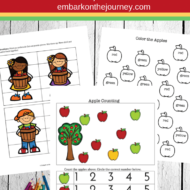 Apple Printable Pack for PreK to Grade 1