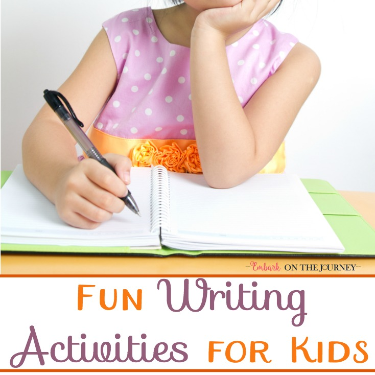 8 Fun Writing Activities for Kids
