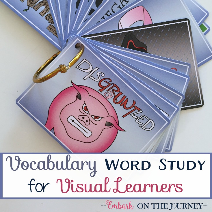 Vocabulary Word Study for Visual Learners
