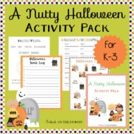A Nutty Halloween Activity Pack