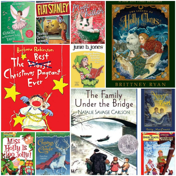 30 Christmas Chapter Books for the Whole Family