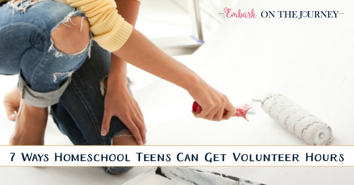 It is becoming increasingly important for teenagers to look for volunteer work throughout their high school years. Not sure where to start? Here are seven ideas!   embarkonthejourney.com