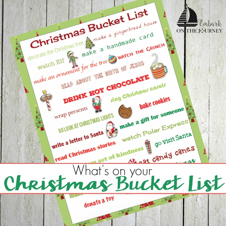Christmas Bucket List for the Whole Family