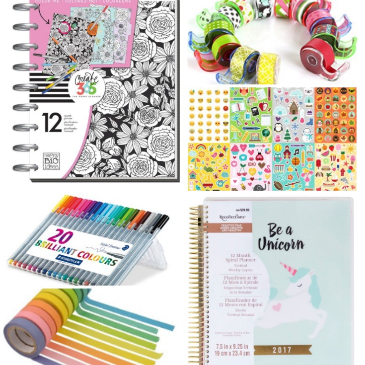 A Gift Guide for Planner Addicts {Teen Version}