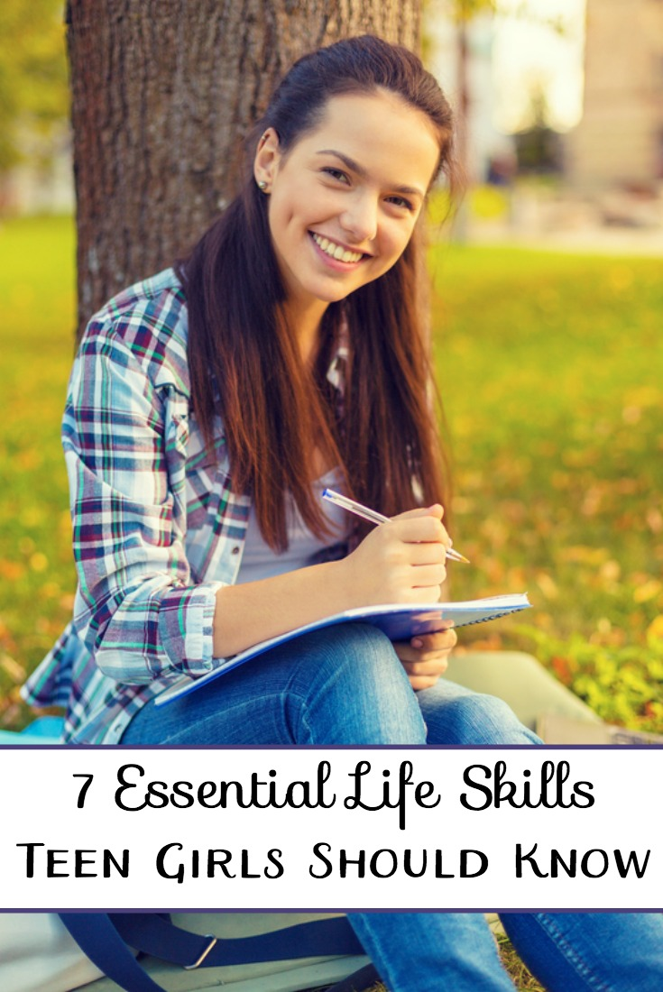 7 Essential Life Skills Teen Girls Should Know & A Limited Time FREEBIE! | embarkonthejourney.com