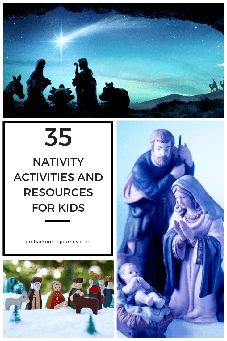 These nativity activities and resources are perfect for engaging our kids in conversations about and focusing our attention on the birth of Jesus.