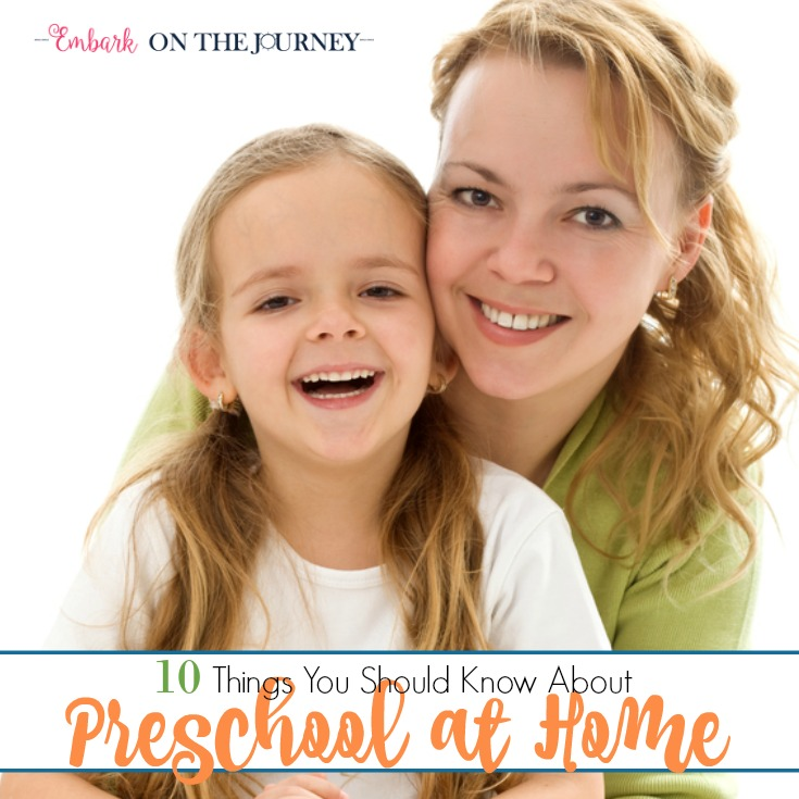 10 Things You Should Know About Preschool at Home