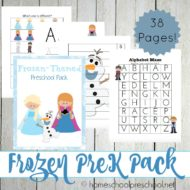 Frozen Printable Learning Pack and Activities
