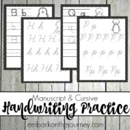 Penguin Handwriting Pack – Print and Cursive