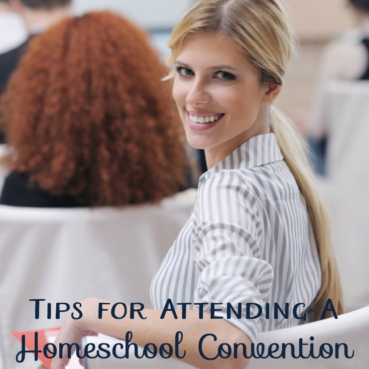 4 Tips for Attending a Homeschool Convention {Giveaway!}