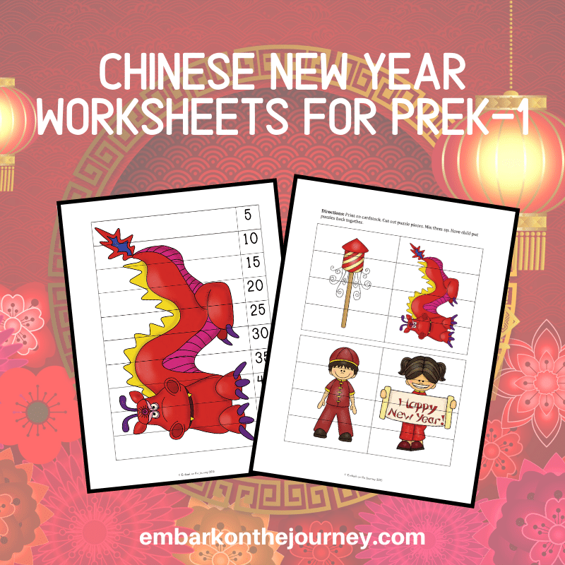 On January 25, many will celebrate the Chinese New Year. You can, too, with this huge Chinese New Year printable learning pack!