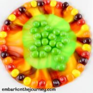 Easy Candy Science Experiment for St. Patrick's Day