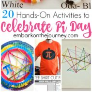 20 Hands-On Pi Day Activities for Your Homeschool