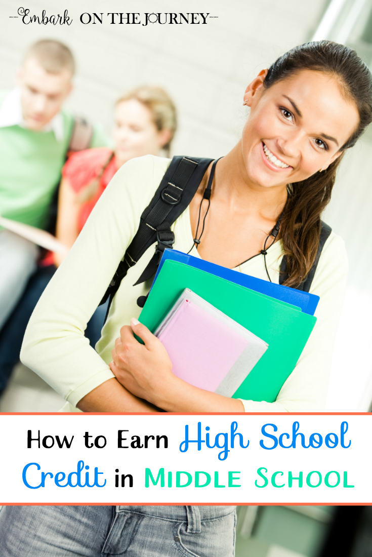 Motivated learners can begin earning high school credits in middle school. Discover five things you should consider first.   embarkonthejourney.com