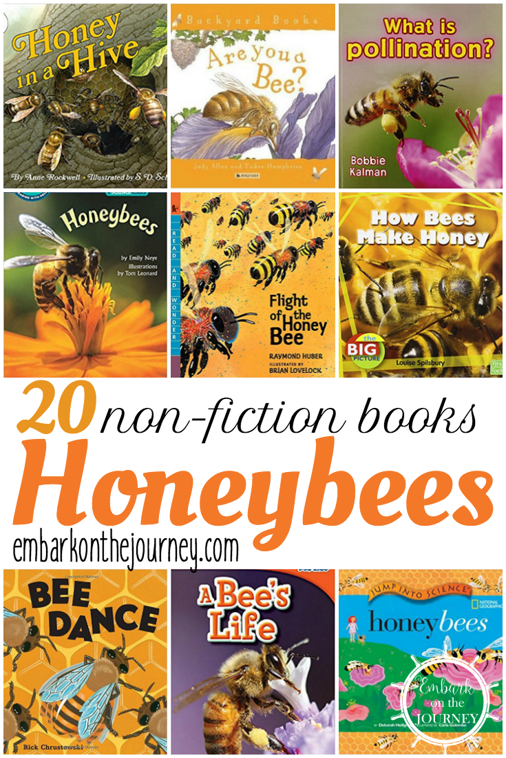 Studying bees this spring? Check out these nonfiction picture books about bees. Present factual information that will keep kids engaged.
