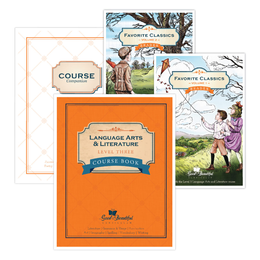 The Good and the Beautiful homeschool curriculum is a multi-subject language arts curriculum that focuses on good, clean literature, writing, and more!