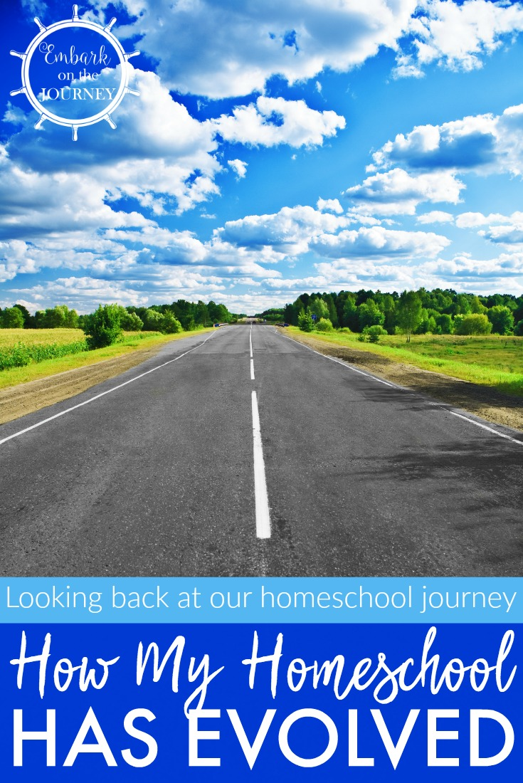 Come with me as I take a trip down memory lane and share how my homeschool has evolved over the past sixteen years.