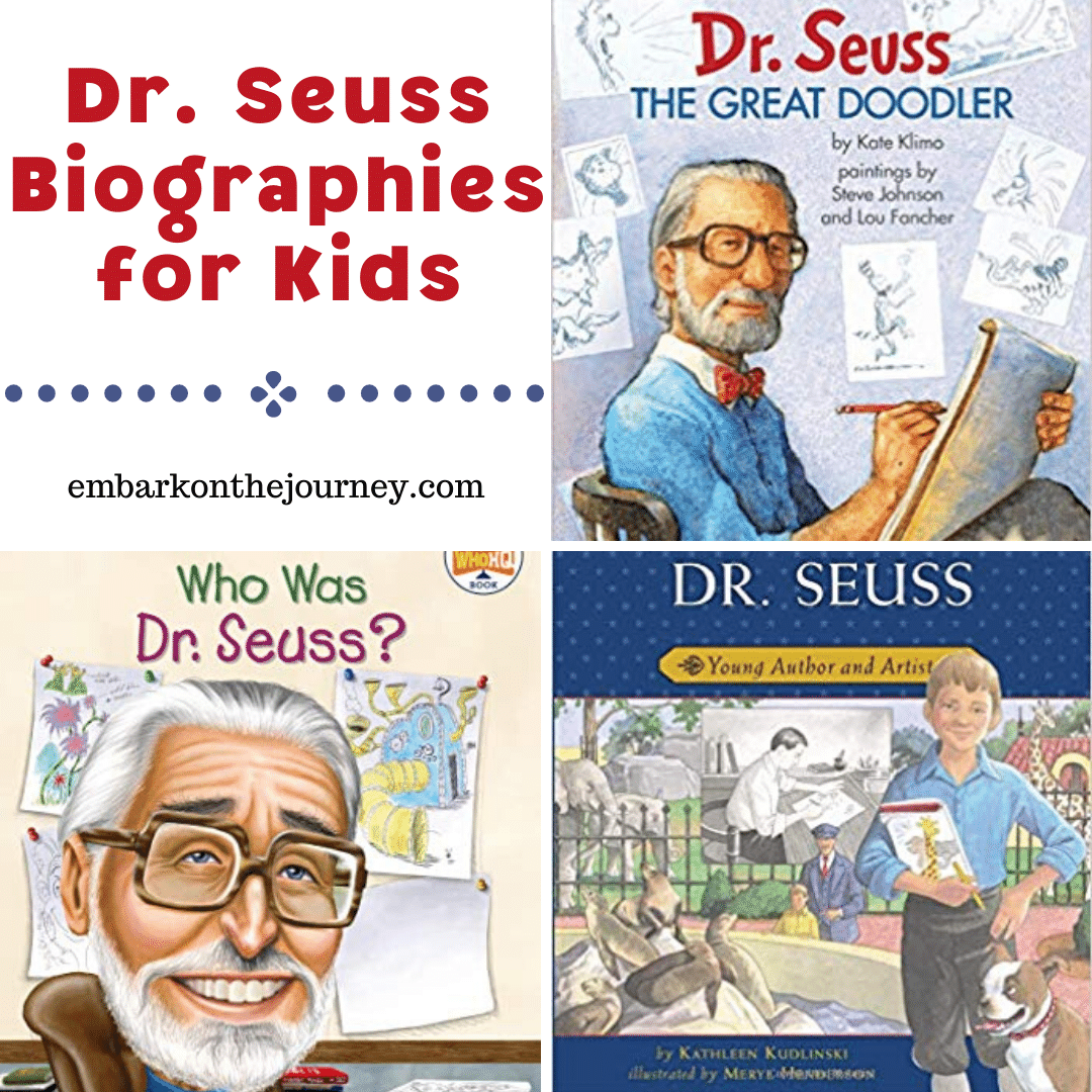 Dr Seuss Biographies for Kids
