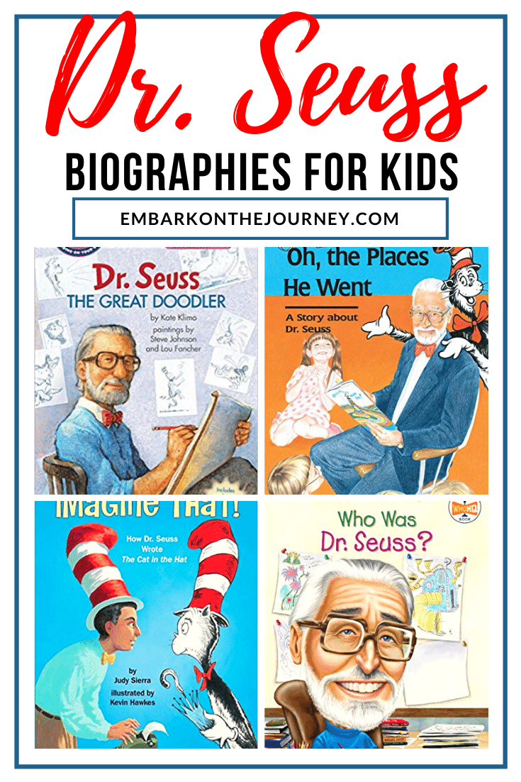 Dr. Seuss is a beloved children's author. Teach students more about his life with one or more of these Dr Seuss biographies for kids.