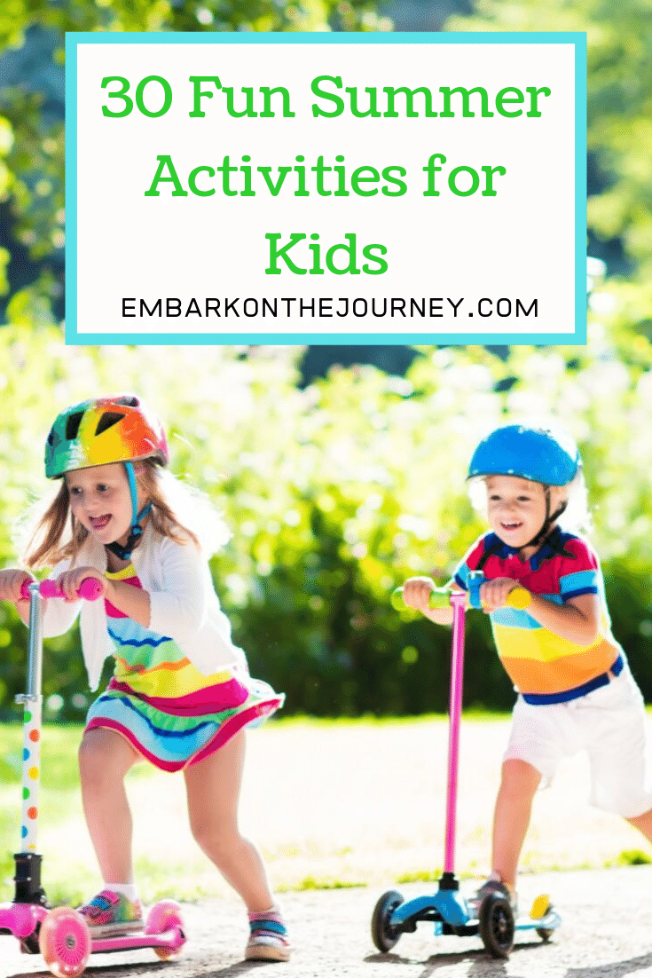 More Than 20 Summer Fun Activities For Kids Of All Ages
