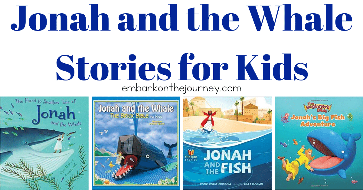 Kids love the Jonah and the Whale story. Here is a great collection of 10+ story versions for kids of all ages to enjoy! Which will become their favorite?
