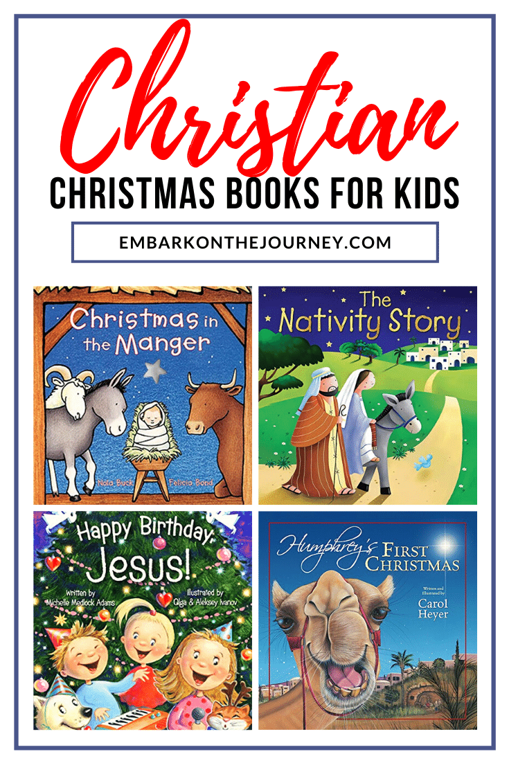 Focus on the birth of Jesus Christ with this collection of Christian Christmas stories for kids. These picture books are perfect for the holidays!