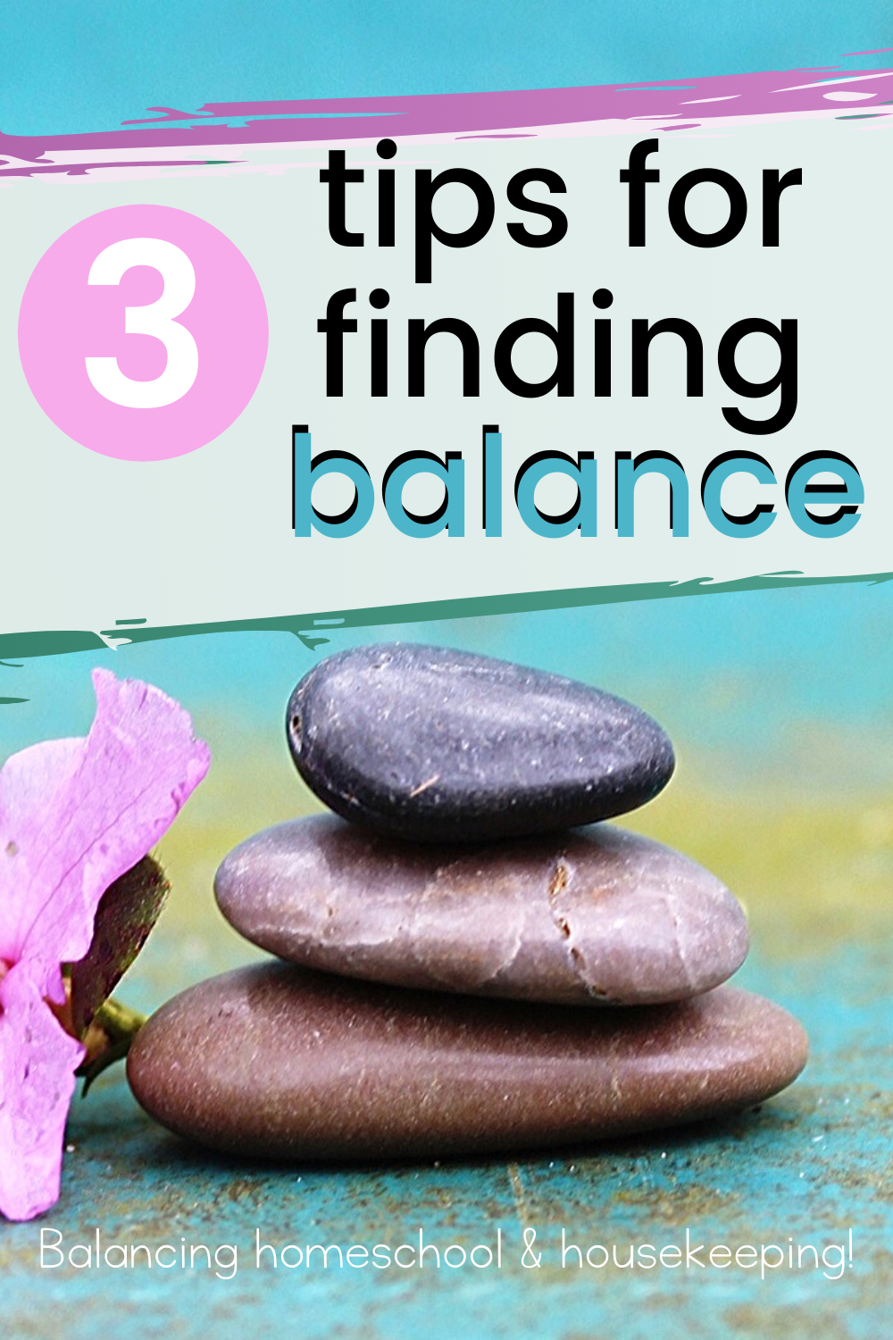 Discover three tips to help you find more balance in your homeschool life. These tips will help you find homeschool balance and plan your days successfully.