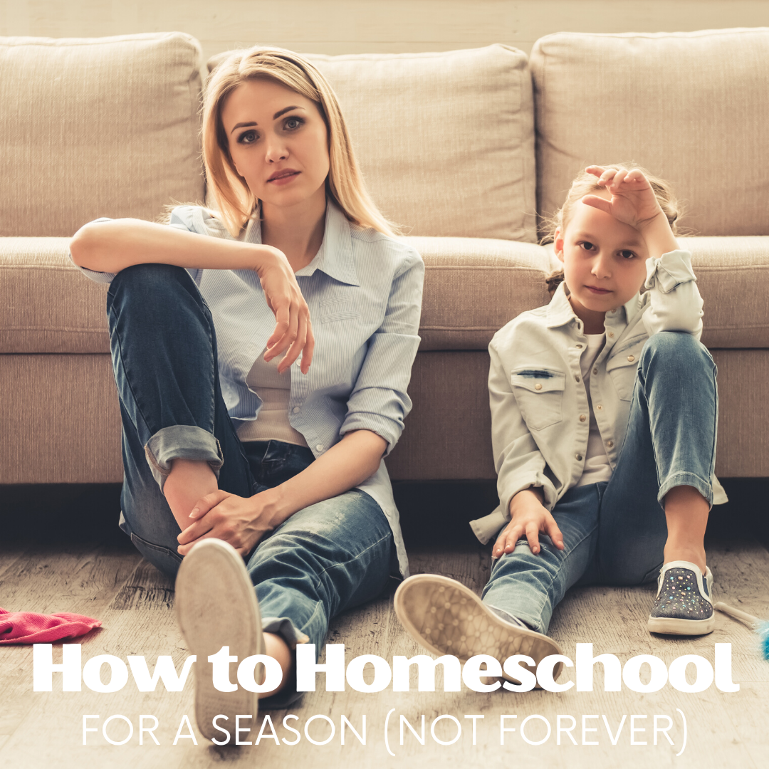 Considering homeschooling but intimidated by the thought of being committed for the long haul? One mom shares her experience of homeschooling for a season.