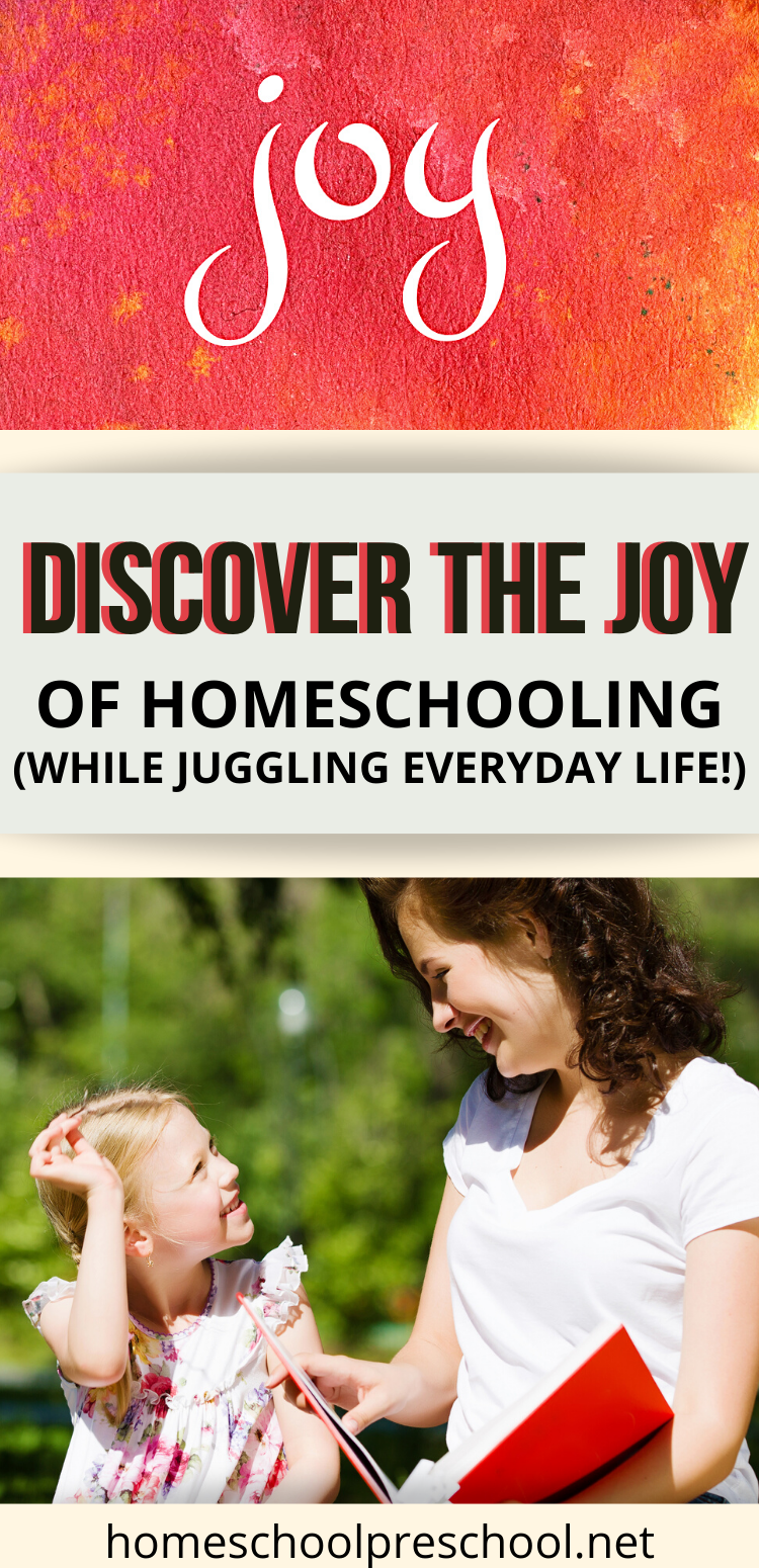 With so much on our plates, it's easy to get lost in the everyday tasks of being at home – cleaning the house, fixing dinner, homeschooling, etc. How can we adjust our focus and rediscover the joy of homeschooling?