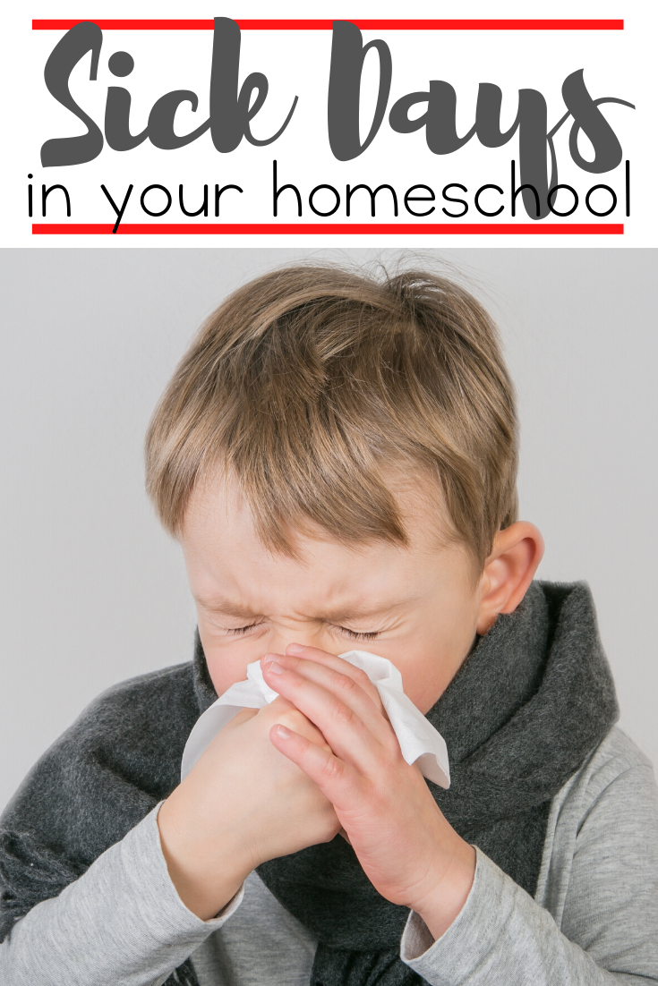Sick days. They're inevitable. But, they don't have to be a total bust. Here are three ways we make the most of a homeschool sick day.