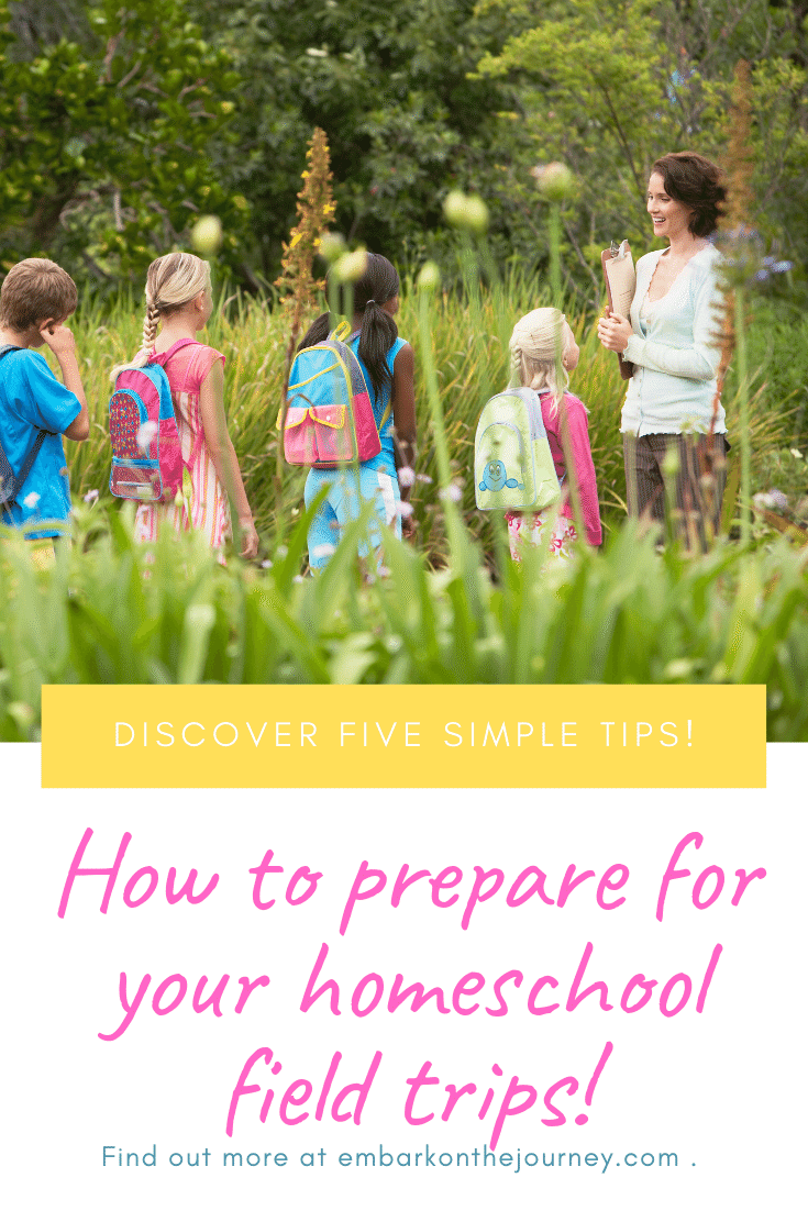 There are a few things you can do to make the most of your homeschool field trips. Discover five simple tips.
