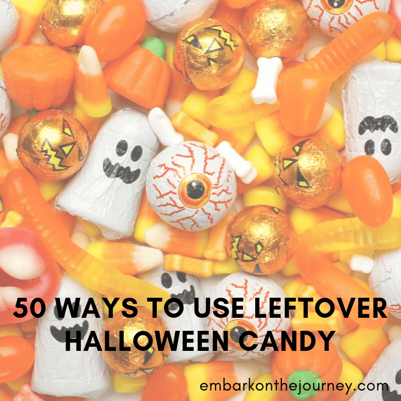 Trying to decide what you're going to do with all that leftover Halloween candy? Use it to teach science and math, try a new recipe, or make a new craft.