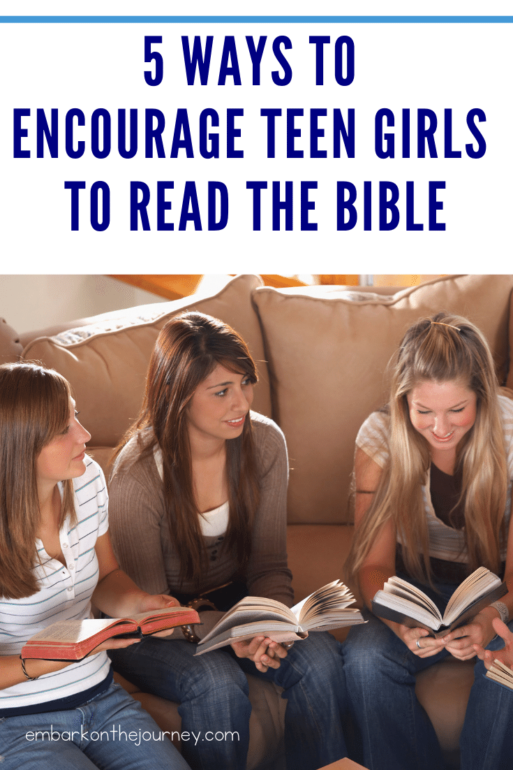 Encourage Teen Girls to Read the Bible